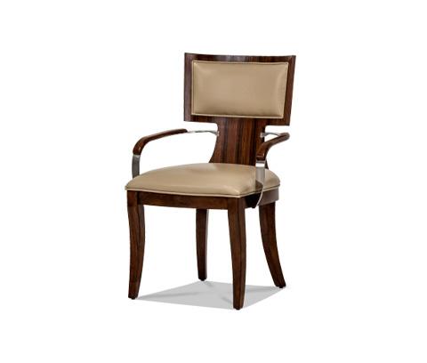 Michael Amini - Cloche Arm Chair - 10004-32