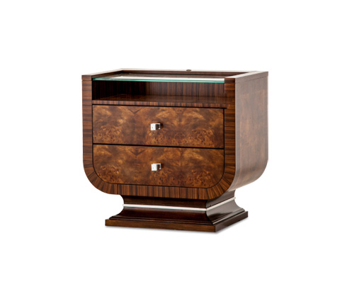 Image of Cloche Nightstand in Bourbon