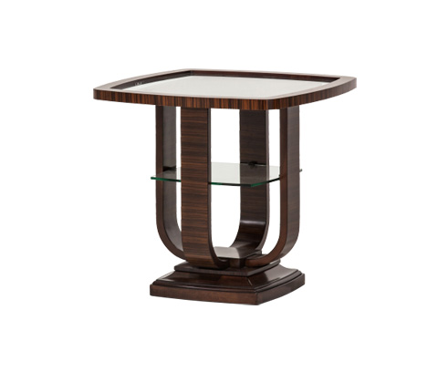 Image of Cloche End Table in Bourbon