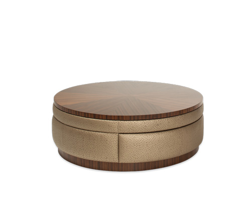 Image of Round Swivel Cocktail Table