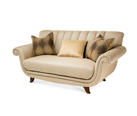 Image of Channel Back Loveseat