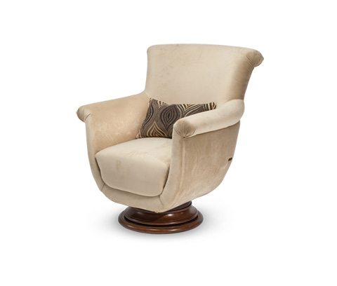 Image of Cloche Swivel Chair