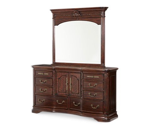 Image of Villagio Dresser in Hazelnut