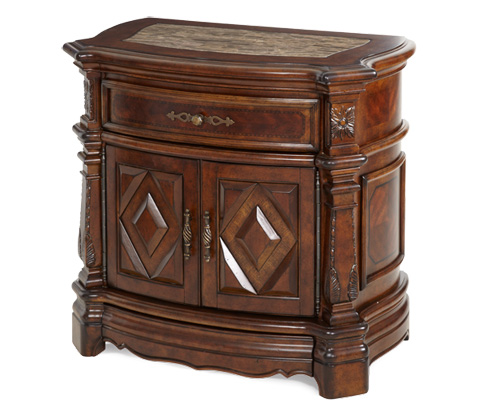 Michael Amini - Windsor Court Nightstand - 70040-54