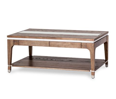 Michael Amini - Rectangular Cocktail Table - 80201-200