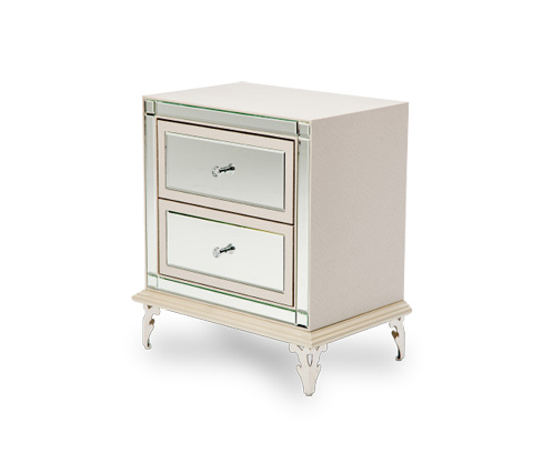 Image of Hollywood Loft Upholstered Nightstand