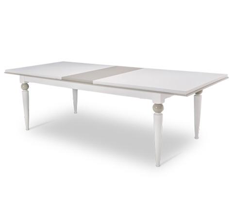 Michael Amini - Sky Tower Rectangular Dining Table - 9025600-108