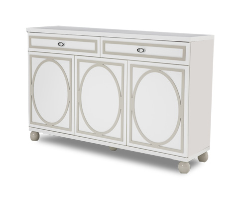 Michael Amini - Sky Tower Sideboard in Cloud White - 9025607-108