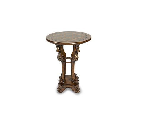 Michael Amini - Accent Table with Inlayed Top - ACF-ACT-002