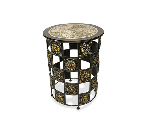 Michael Amini - Round Accent Table - ACF-ACT-142