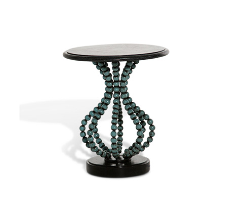 Michael Amini - Round Accent Table - ACF-ACT-ATLS-A82