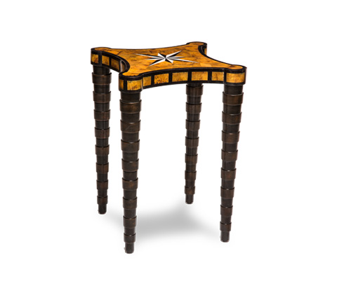 Michael Amini - Square Accent Table - ACF-ACT-BRLN-000