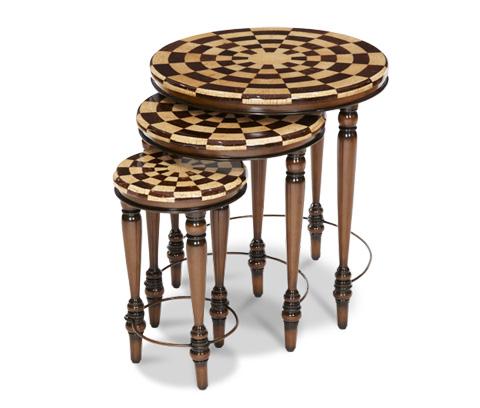 Michael Amini - Three Piece Nesting Table - ACF-NST-CASA-003