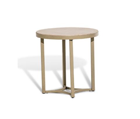 Michael Amini - Round End Table - FS-ALTA224