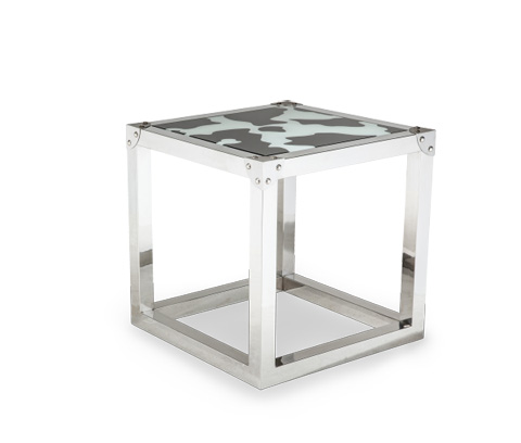 Michael Amini - Lucia End Table - FS-LUCIA202