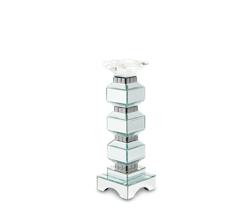 Image of Three Tier Mirrored Candle Holder