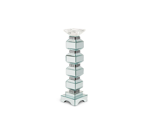 Michael Amini - Four Tier Mirrored Candle Holder - FS-MNTRL156-PK2