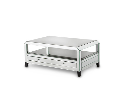 Michael Amini - Montreal Mirrored Cocktail Table - FS-MNTRL204