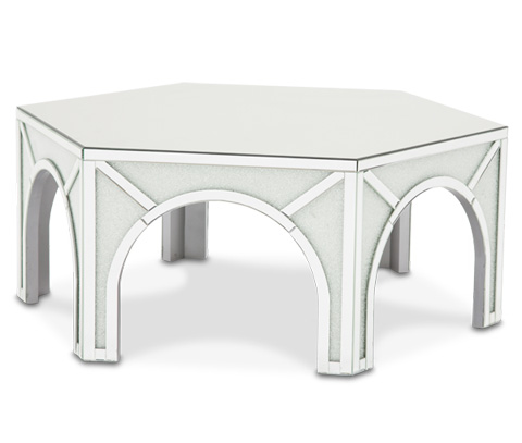 Michael Amini - Montreal Hexagonal Cocktail Table - FS-MNTRL207
