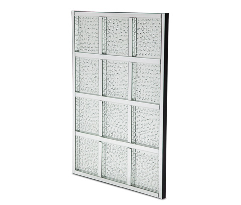 Image of Montreal Rectangular Crystal Wall Decor