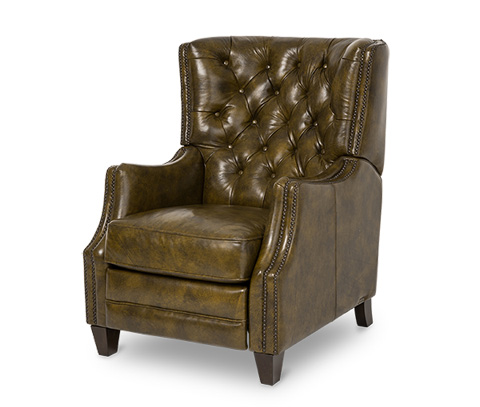Michael Amini - Rycote Leather Reclining Chair - FS-RYCOT95-DOL-43