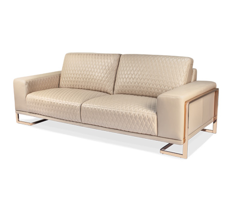 Image of Gianna Leather Standard Sofa