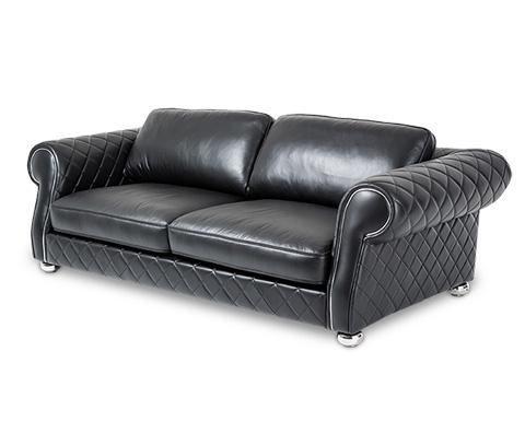 Image of Lugano Leather Standard Sofa