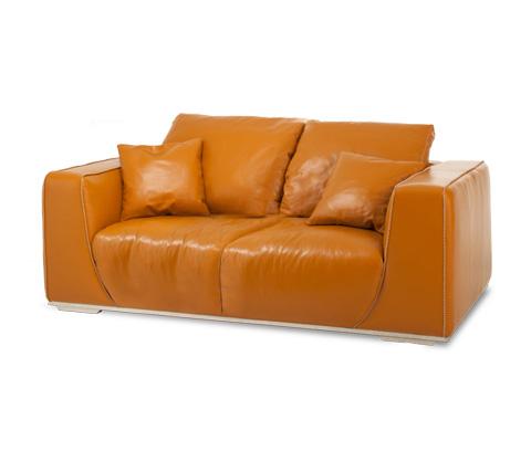 Michael Amini - Sophia Leather Standard Sofa - MB-SOPHI15-TGR-13