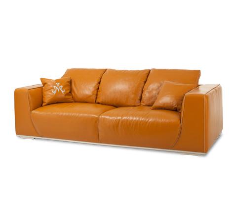 Image of Sophia Leather Mansion Sofa