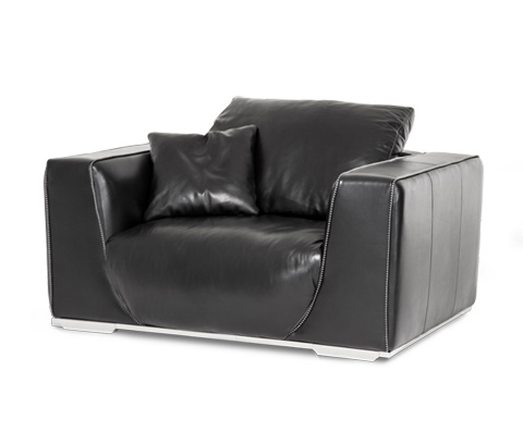 Image of Sophia Leather Chair and a Half