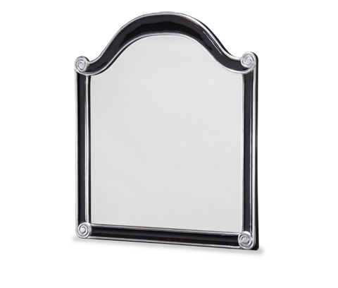 Image of Black Sideboard Mirror