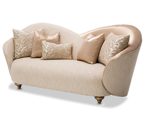 Image of Camelia Sofa in Bright Gold