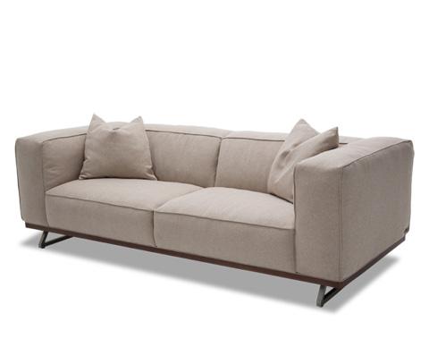 Michael Amini - Tempo Sofa in Brushed Nickel - TR-TEMPO15-SND-94