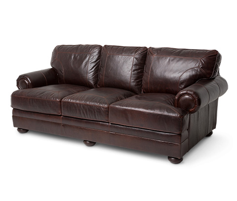 Michael Amini - Newbury Leather Standard Sofa - FS-NWBRY15-CHC-43