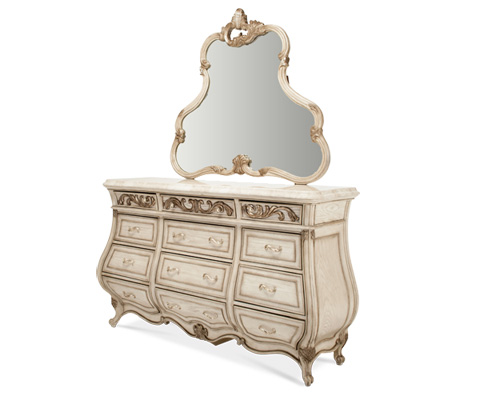 Image of Dresser with Dresser Mirror
