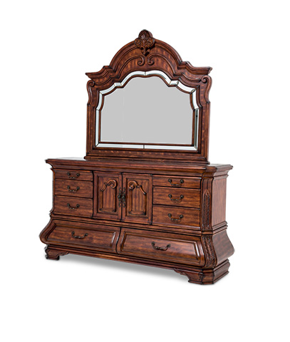 Michael Amini - Tuscano Dresser and Mirror - 34050-34/34060-34