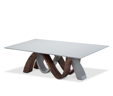 Michael Amini - Rapture Rectangular Cocktail Table - TR-RPTRE201T/TR-RPTRE201B