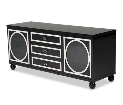 Michael Amini - Sky Tower Media Cabinet - 9025695-805