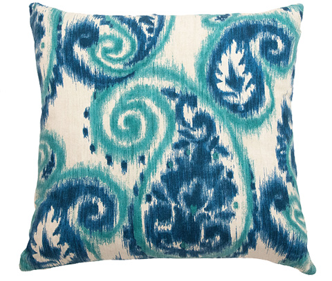 Michael Amini - Bangali Throw Pillow - BCS-DP22-BNGLI-CRB