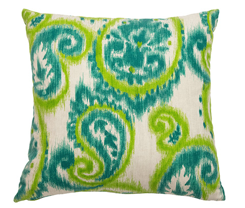 Michael Amini - Bangali Throw Pillow - BCS-DP22-BNGLI-KIW