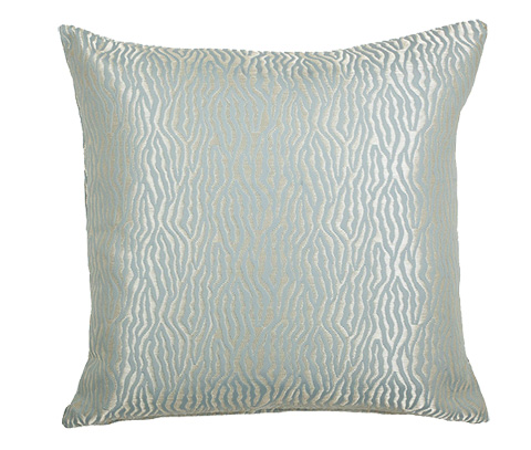 Michael Amini - Basswood Throw Pillow - BCS-DP22-BSWD-AQU