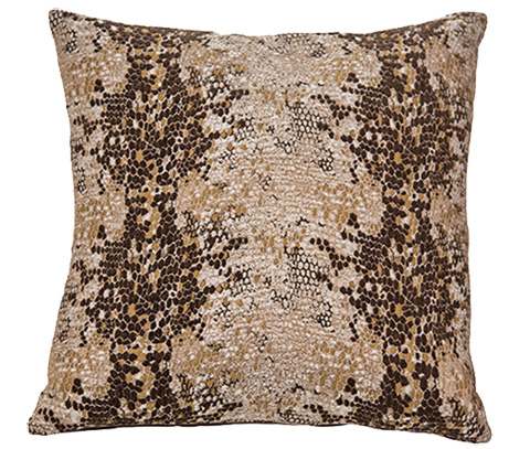 Michael Amini - Columbia Throw Pillow - BCS-DP22-CLMBA-COC