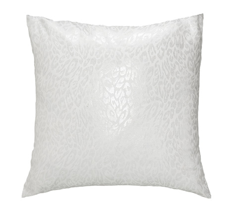 Michael Amini - Gato Throw Pillow - BCS-DP22-GATO-SIL