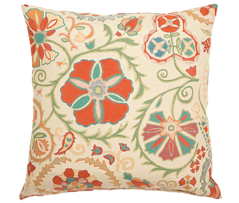 Michael Amini - Kendra Throw Pillow - BCS-DP22-KENDRA-SPR