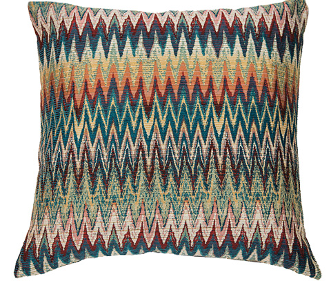 Michael Amini - Maui Throw Pillow - BCS-DP22-MAUI-HEAT