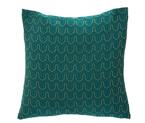 Michael Amini - Parma Throw Pillow - BCS-DP22-PARMA-JAD