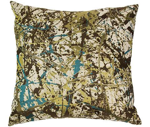 Michael Amini - Painter Throw Pillow - BCS-DP22-PNTER-WSB