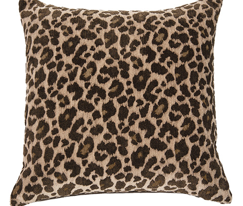 Michael Amini - Wild Life Throw Pillow - BCS-DP22-WLDLF-CHA