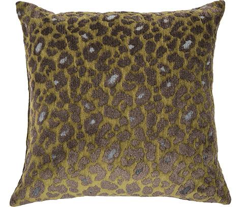 Michael Amini - Wild Life Throw Pillow - BCS-DP22-WLDLF-JNG