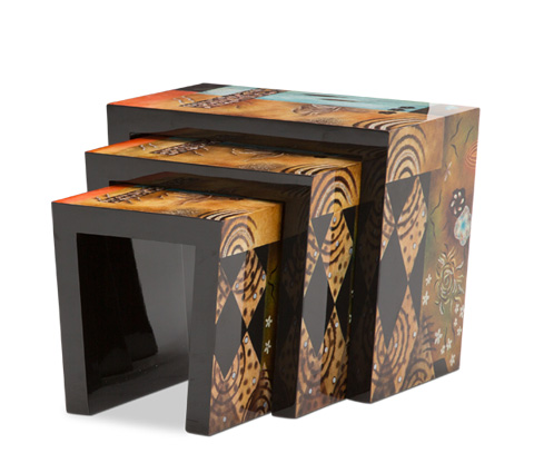 Image of Illusions Nesting Tables (Three Piece)
